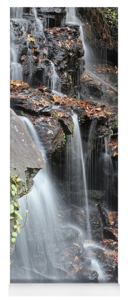 Yoga Mat featuring the photograph Issaqueena Falls 2013 A by Joseph C Hinson Photography