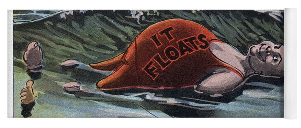 It Floats - Man Yoga Mat