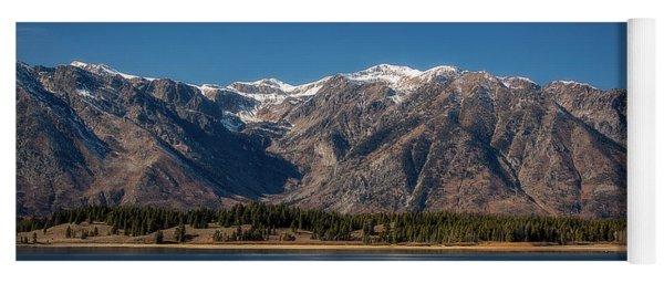 Jackson Lake Wyoming Yoga Mat