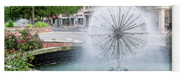 James Brown Blvd Fountain - Augusta Ga Yoga Mat