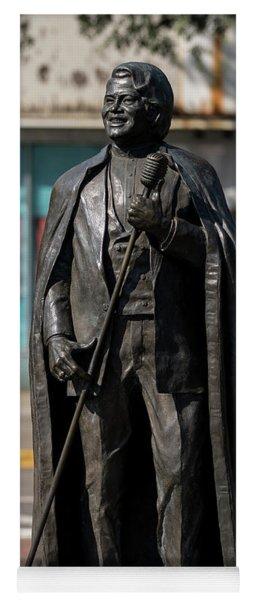 James Brown Statue - Augusta Ga 2 Yoga Mat