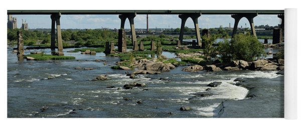 James River Rapids Yoga Mat