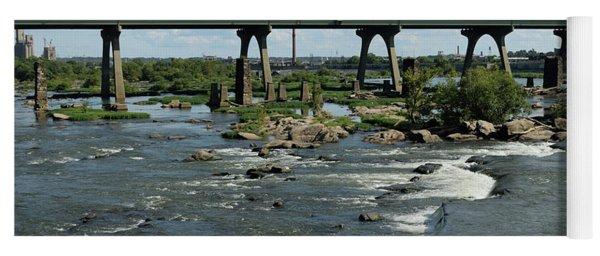 James River Rapids Yoga Mat