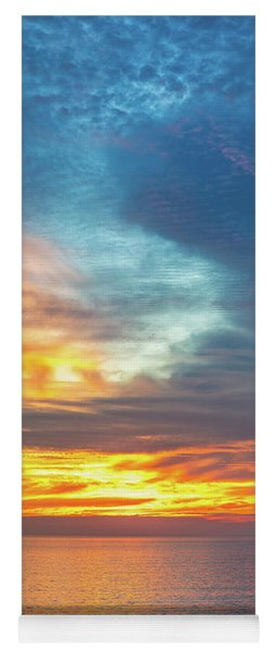 January Sunset - Vertirama Yoga Mat