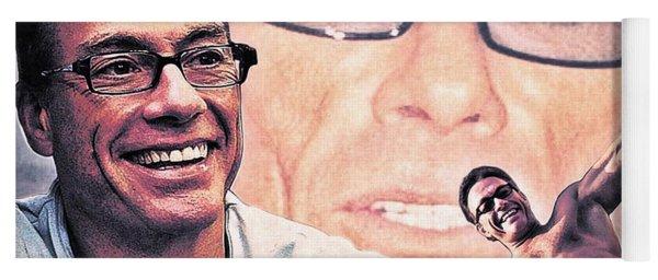 Jean-claude Van Damme Yoga Mat