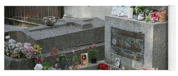 Jim Morrison's Grave Yoga Mat