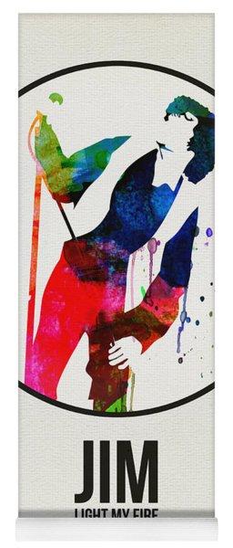 Jim Watercolor Poster Yoga Mat