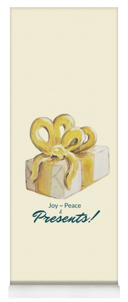 Joy, Peace And Presents Yoga Mat