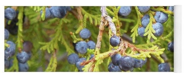 Juniper Berries Yoga Mat