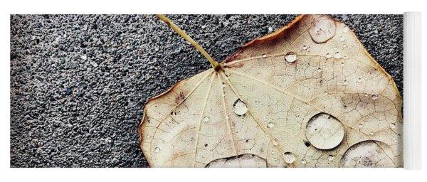Just A Glimpse Of Autumn Yoga Mat