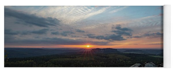 Just Before Sundown Yoga Mat