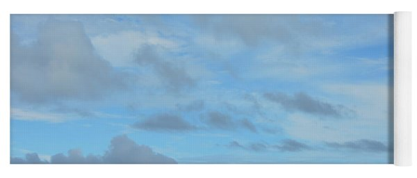Yoga Mat featuring the photograph Just Blue Skies by Jamart Photography