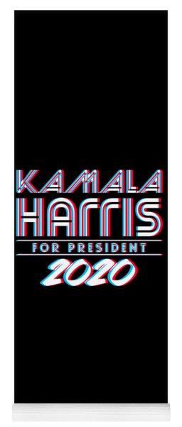 Kamala Harris For President 2020 3d Yoga Mat