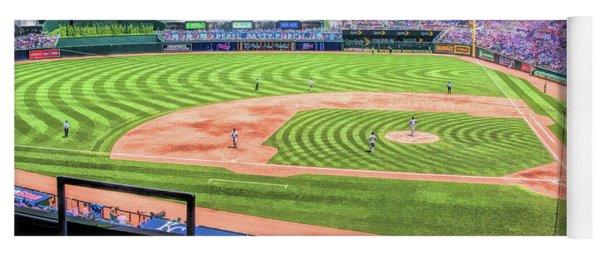 Kauffman Stadium Kansas City Royals Baseball Ballpark Stadium Yoga Mat