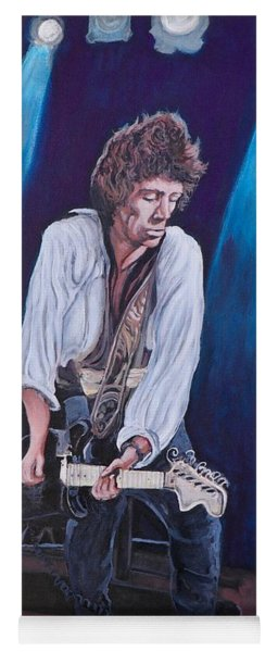 Keith Richards Yoga Mat