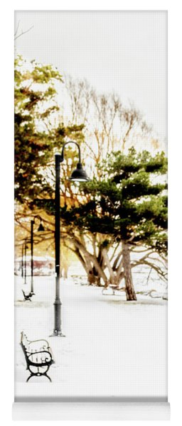 Kershaw Park Winter Yoga Mat