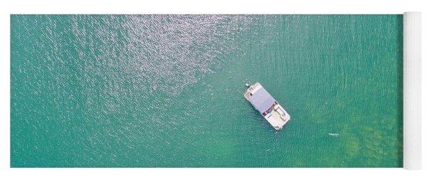 Keuka Lake Boating Yoga Mat