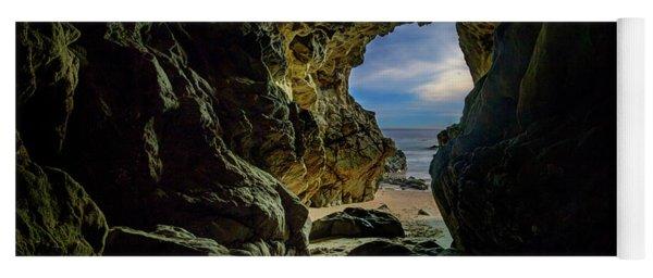 Keyhole Cave In Malibu Yoga Mat