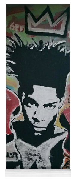 King Basquiat Yoga Mat