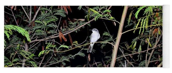 Kingbird At Night Yoga Mat