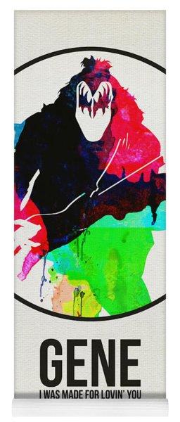 Kiss Watercolor Yoga Mat