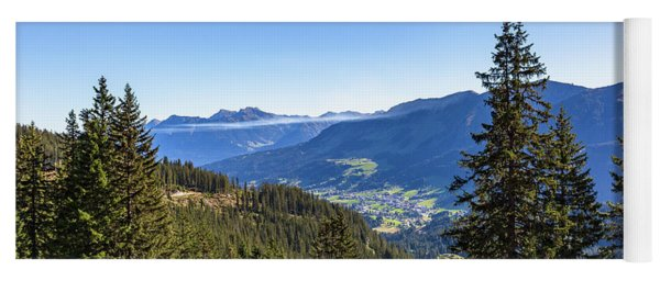 Yoga Mat featuring the photograph Kleinwalsertal, Austria by Andreas Levi
