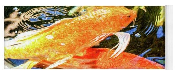 Koi Pond Fish - Passionate Fantasies - By Omaste Witkowski Yoga Mat