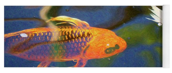 Koi Pond Fish - Picasso's Pets - By Omaste Witkowski Yoga Mat