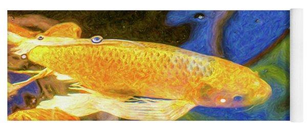 Koi Pond Fish - Winning Moves - By Omaste Witkowski Yoga Mat