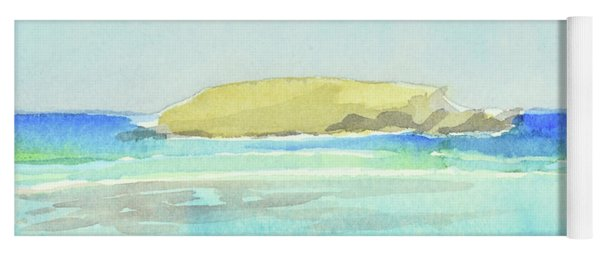 La Tortue, St Barthelemy, 1996_4179 Clean Cropped, 102x58 Cm, 6,86 Mb Yoga Mat