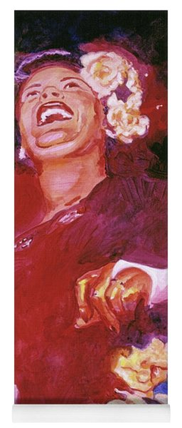 Lady Day - Billie Holliday Yoga Mat