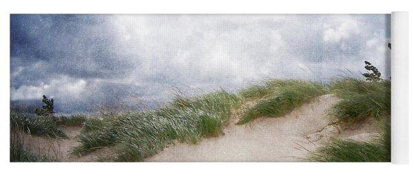 Lake Michigan Sand Dunes Yoga Mat
