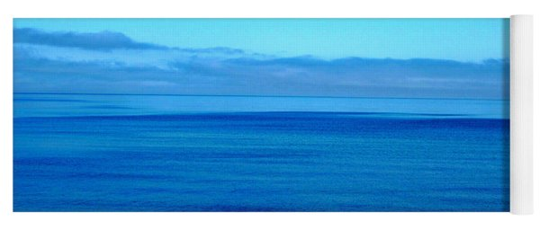 Lake Superior Blue Yoga Mat