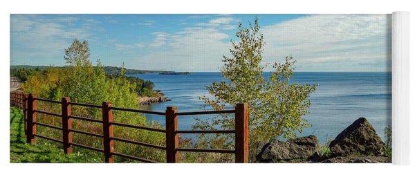 Lake Superior Overlook Yoga Mat