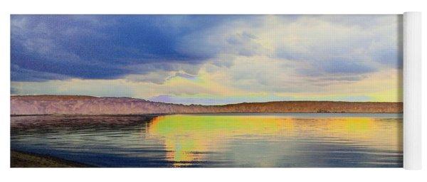 Lake Superior Sunset Yoga Mat