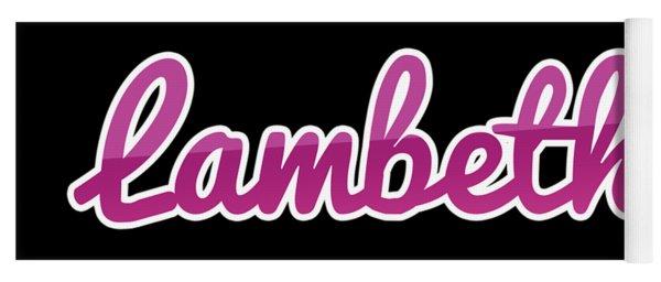 Lambeth #lambeth Yoga Mat