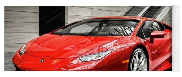 Lamborghini Huracan Yoga Mat