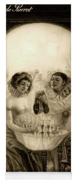L'amour De Pierrot, 1905 Yoga Mat
