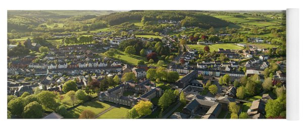 Lampeter From The Air Yoga Mat
