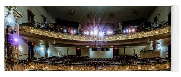 Landers Theatre Stage View Yoga Mat