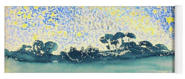 Landscape With Stars - Digital Remastered Edition Yoga Mat