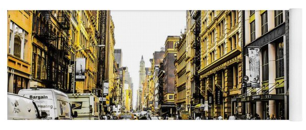 Yoga Mat featuring the photograph Lane Only  by Geraldine Gracia