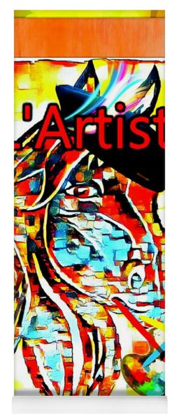 L'artiste And The Artist Yoga Mat