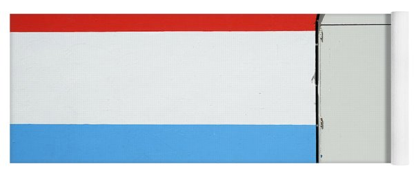 Las Croabas - Red White And Blue Yoga Mat