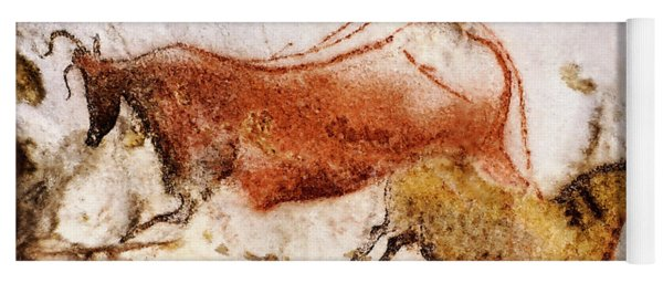 Lascaux Cow And Horse Yoga Mat