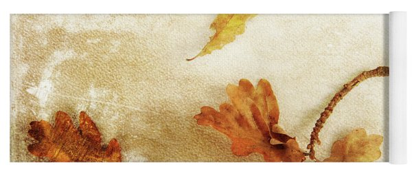 Yoga Mat featuring the photograph Last Days Of Fall by Randi Grace Nilsberg