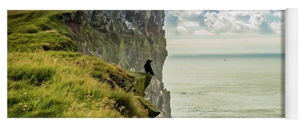 Latrabjarg Cliffs, Iceland Yoga Mat