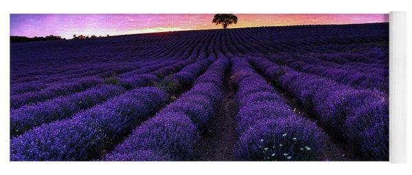 Lavender Dreams Yoga Mat