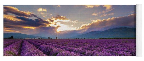 Lavender Sun Yoga Mat