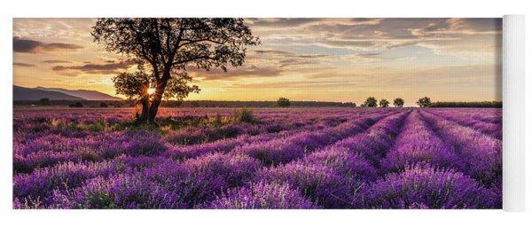 Lavender Sunrise Yoga Mat